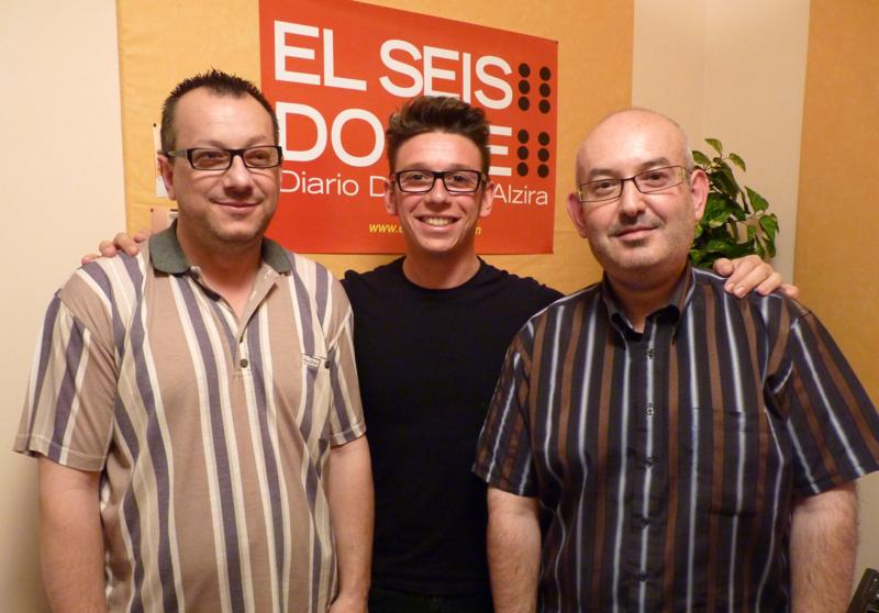 Carlos Valiente con el dúo L'aixeta