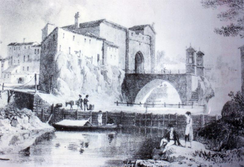 Estampas y recuerdos de alzira 176 el puente que uni alzira - Librerias en alzira ...