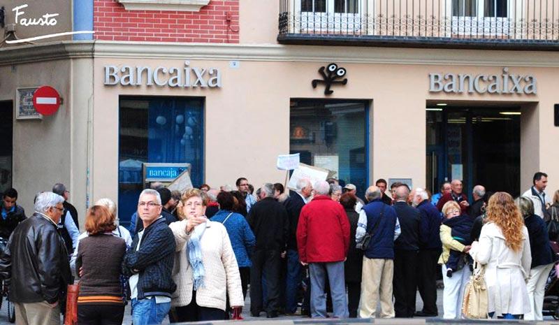 Afectados por preferentes y subordinadas de alzira se han for Bankia oficina por internet