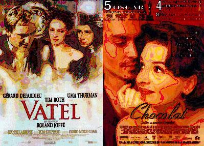 El Club Cinema Alzira proyecta las peliculas Vatel y