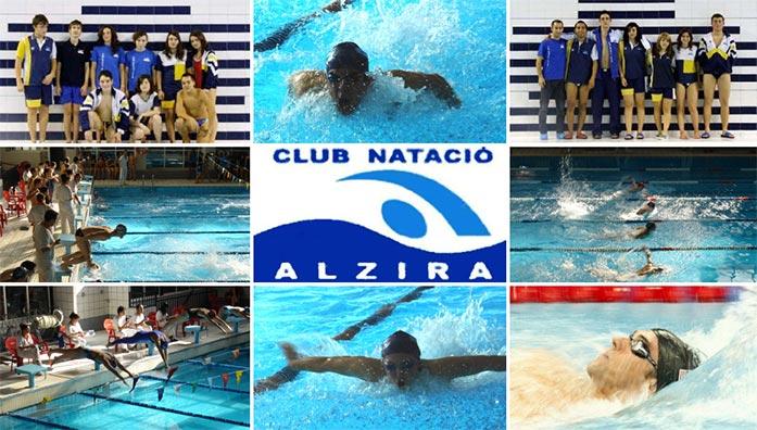 Competici n de nataci n en la piscina municipal de alzira for Piscina municipal de valencia