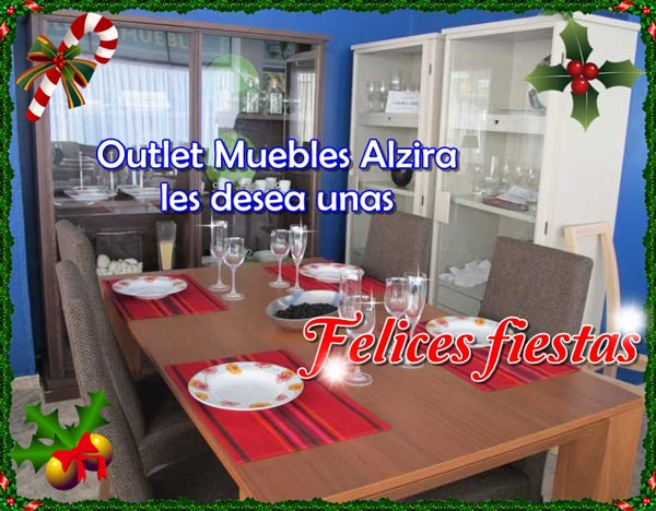 La navidad es tiempo de regalos tambi n en outlet muebles alzira - Muebles alzira ...