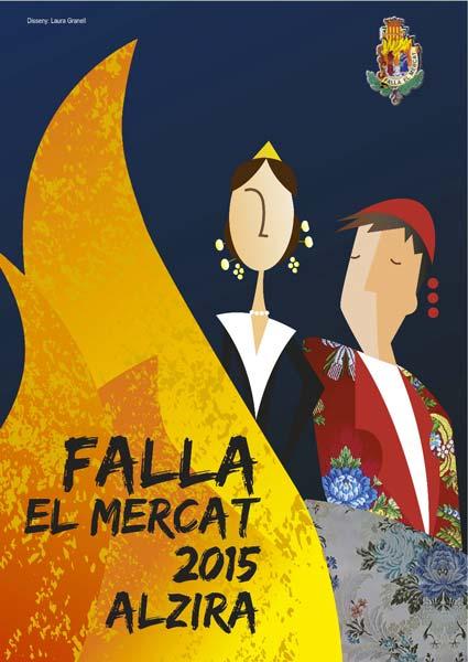 La falla el mercat de alzira presentar esta tarde su llibret - Librerias en alzira ...