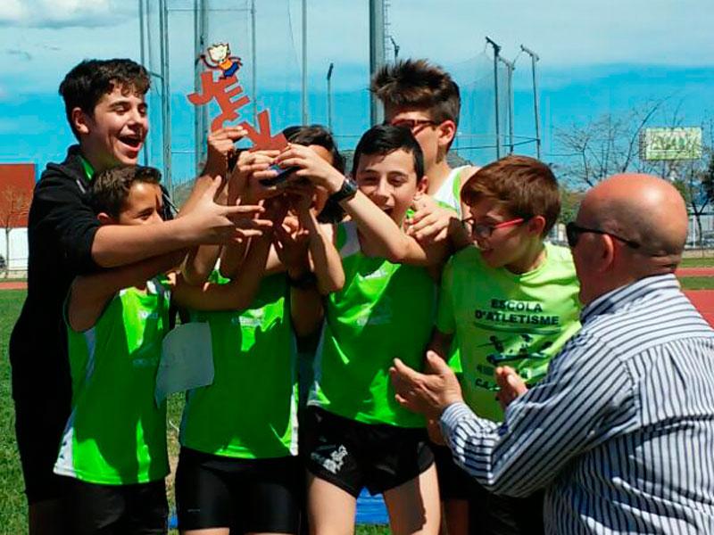 El equipo masculino del c a la rabosa consigue la medalla de bronce en las pistas de x tiva - Persianas esparza ...