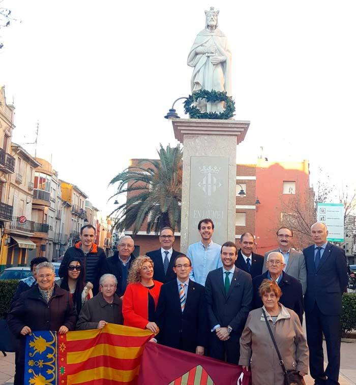 El pp de alzira celebra su tradicional homenaje jaume i - Librerias en alzira ...