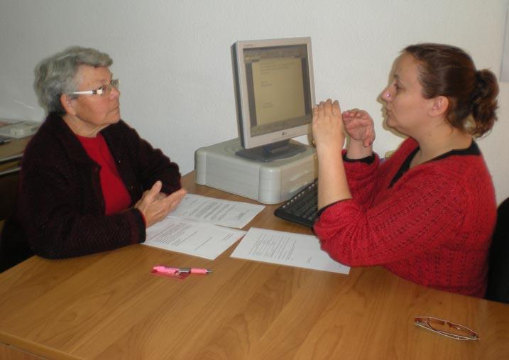 Apesorial organiza un curso de introducci n a la lengua de signos en alzira - Librerias en alzira ...