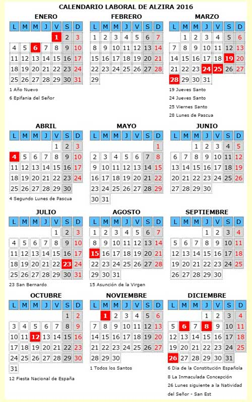 Calendario 2016 Con Estaciones - newhairstylesformen2014.com