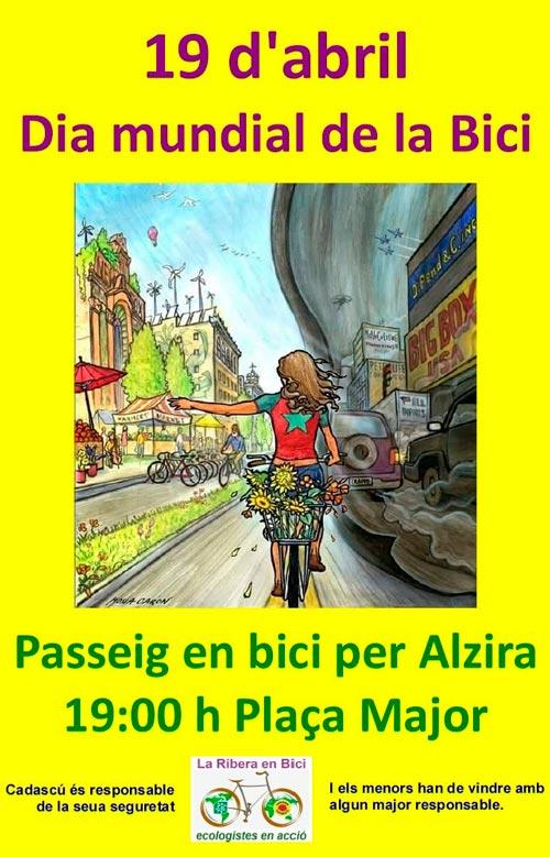 La ribera en bici organitza dem un passeig en bici per alzira - Librerias en alzira ...