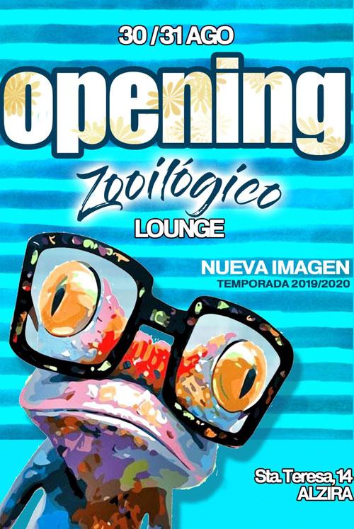 Calendario Laboral Alzira 2020.No Te Pierdas Hoy La Reapertura Zooilogico Lounge Y Su Nueva
